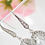 Thumbnail: Large Clear Crystal Sparkling Bridal Earrings