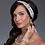Thumbnail: Couture Crystal Ivory Bridal Headband or Bridal Sash
