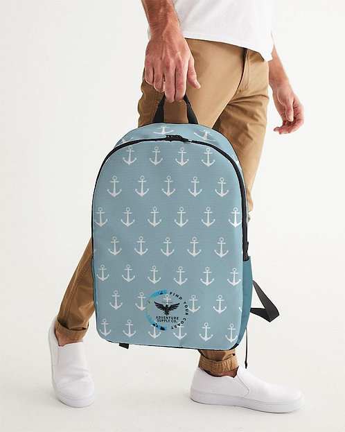Find Your Coast Waterproof Anchors Large Backpack
