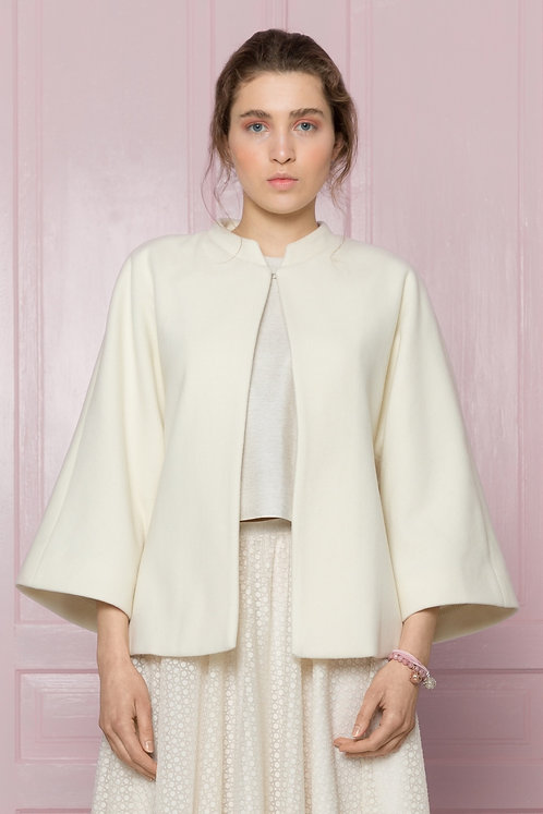 MROVCA - Cashmere Cape  With Sleeves