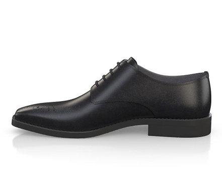 Men's Derby Black Shoes