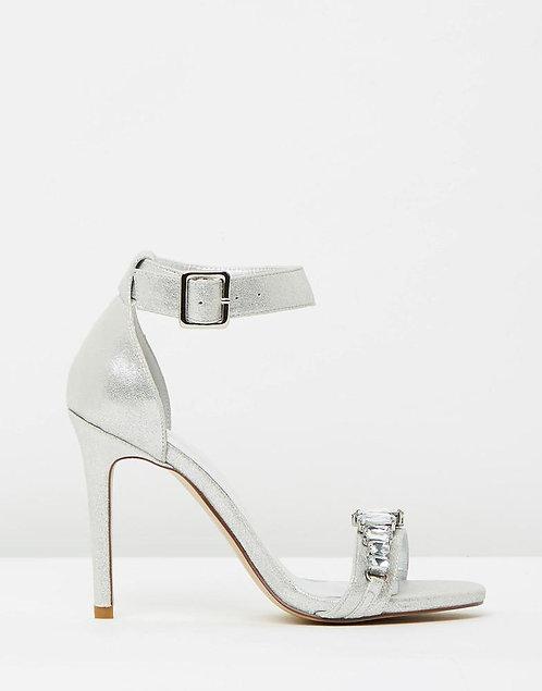 Izoa Monaco Heels Silver