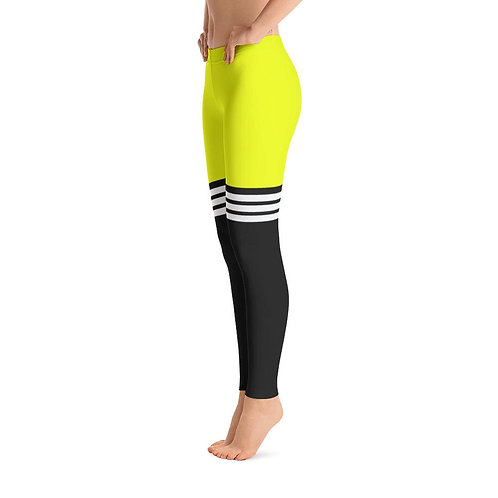 All Day Comfort Full Length Leggings Pacific Supply Stripe