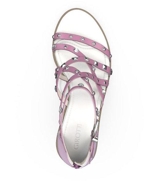 GI Lilac Strap Sandal