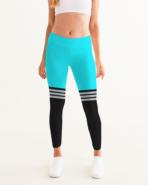 Women's Active Comfort Pacific Supply Stripe Sport Yoga Pant