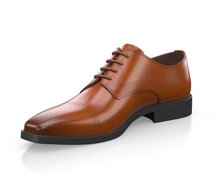 Light brown Derby Shoes