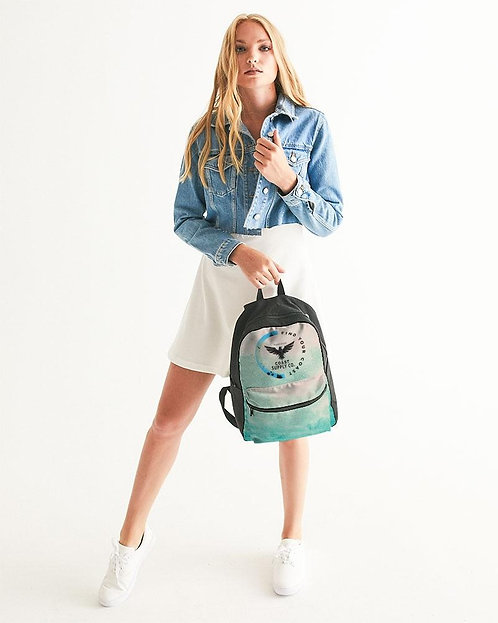 Find Your Coast Island Inlet Small Canvas Backpack