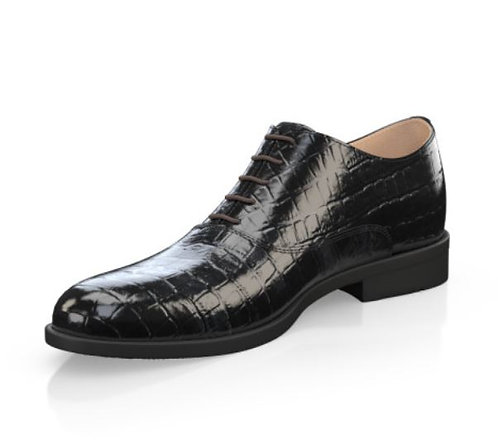 Oxford Balck embossed Leather