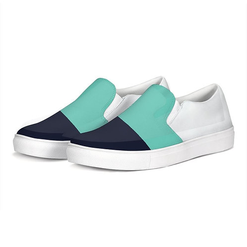 FYC Color Block Canvas Slip-On Casual Shoes
