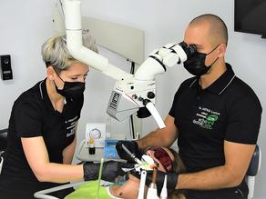 Tratamentul de canal sub microscop!