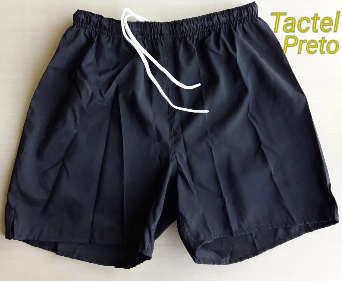 Short Tactel Preto
