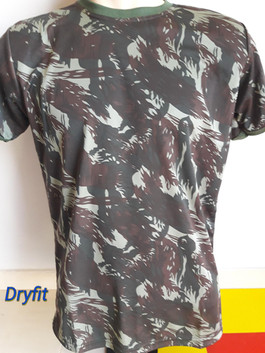 Camiseta Camuflada Dry