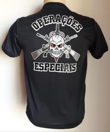 Camiseta Estampada Operações Especiais