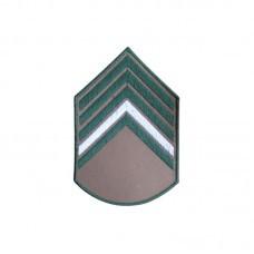 Divisa Bordada 2° Sargento Bege