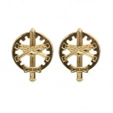 Distintivo Metal Gola Dourado QAO