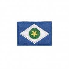 Bandeira Mato Grosso Termocolante