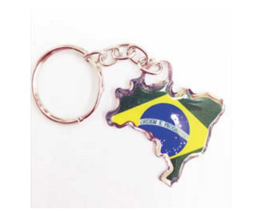 Chaveiro Mapa do Brasil