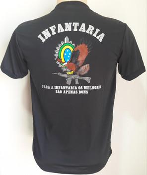 Camiseta Estampada Infantaria (Mod.1)