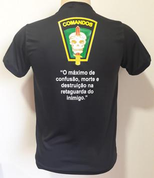 Camiseta Estampada Comandos