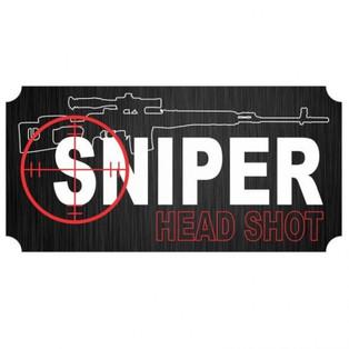 Adesivo Sniper Escrito