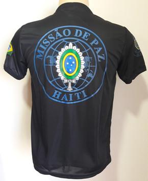 Camiseta Estampada Missão de Paz