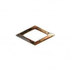 Divisa Metal Dourada Subtente - Ombro