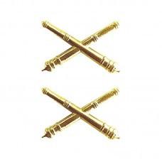 Distintivo Metal Gola Dourado Material Bélico