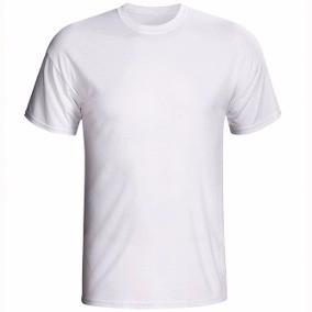 Camiseta Branca Lisa Manga Curta