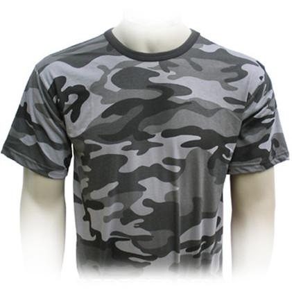 Camiseta Camuflado Urbano