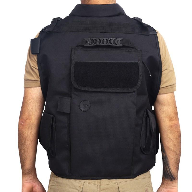 Colete Tático Swat (costas)