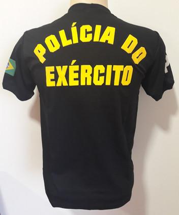 Camiseta Estampada Polícia do Exército