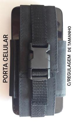 Porta Celular Preto