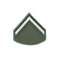 Divisa Bordada Soldado Verde Oliva
