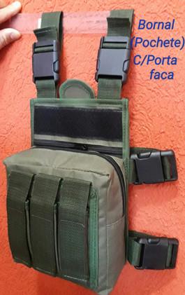 Bornal Verde Oliva 3 PT