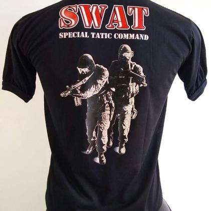 Camiseta Estampada Swat