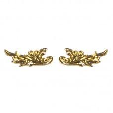 Distintivo Metal Gola Dourado Intendência