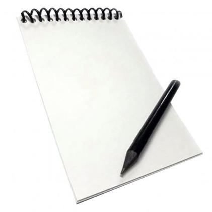 Caderneta Impermeável