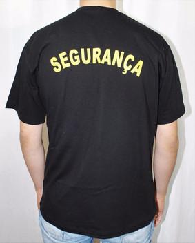 Camiseta Estampada Segurança