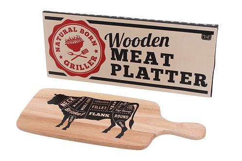 Wooden Meat Platter