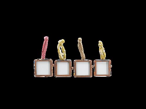 Set of 4 Kiko frames - antique copper