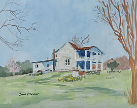 Old Pikeville Ct House Marion Co gouche sm.jpg