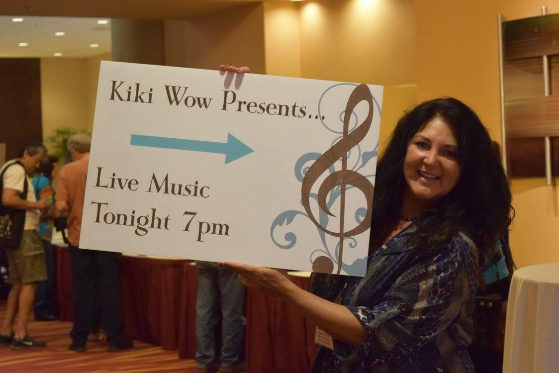 Music Promoter Kiki Wow Presents...