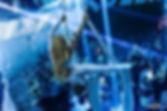 GIULIA GRECO ACROBATA AEREA POLE DANCER GINNASTA COMPAGNIA STARDUST AERIAL SILK TESSUTI AEREI ACROBATICI ACROBATI AEREI COMPAGNIA STARDUST SPETTACOLI EVENTI
