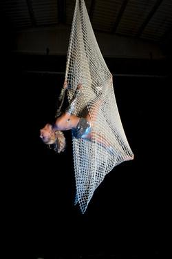 aerial net - rete aerea acrobatica