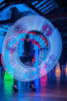 LED PIXEL GRAPHIC POI SHOW