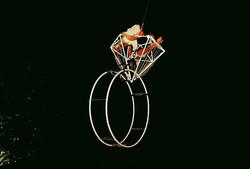 AERIAL RING - ANELLO AEREO DIAMANTE