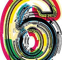 colorful-grunge-number-6-image_csp149825