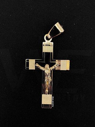 10K Crucifix Pendant