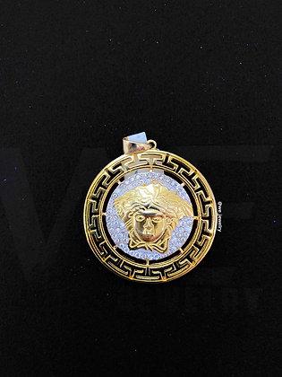 Golden Versace Pendant