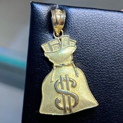 Money Bag Pendant